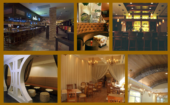 Restaurant Designer, Hospitality and Retail Design Services.